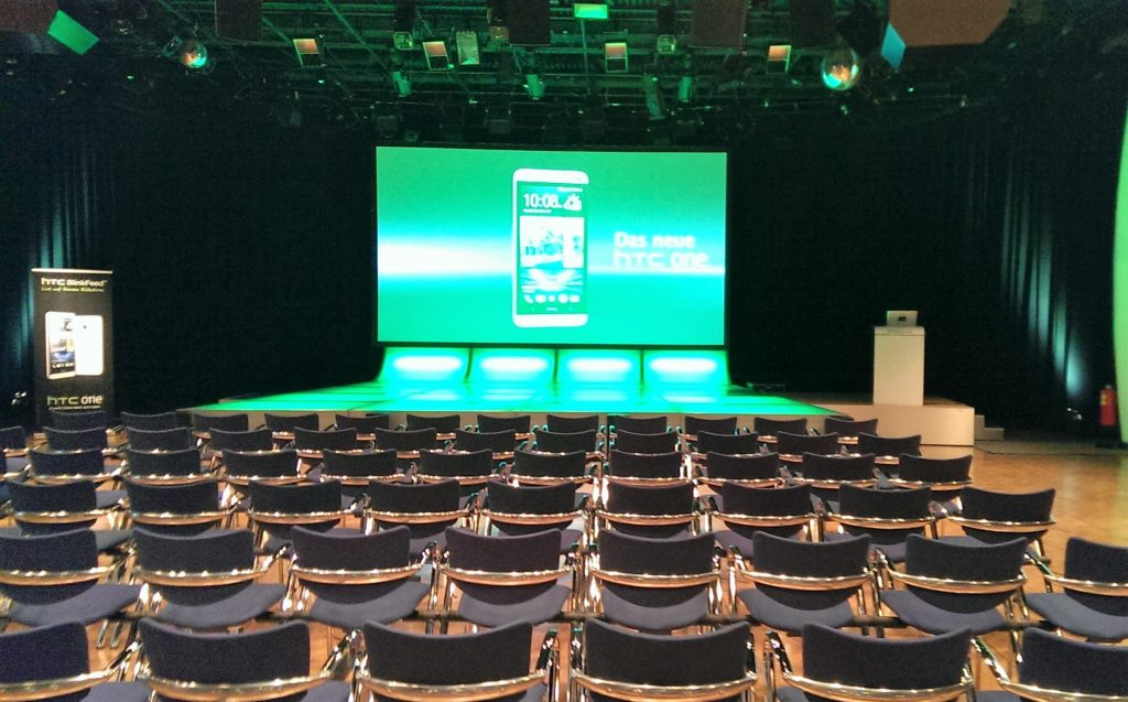 Pressekonferenz im Rahmen eines Produktlaunches für Smartphone Hersteller in Wien
